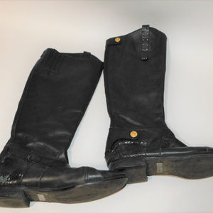 Sam Edelman Tall Black Riding Boots size 10M
